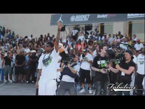 Fabolous In Paris For The Jordan Brand (Quai 54) International Basketball Tournament