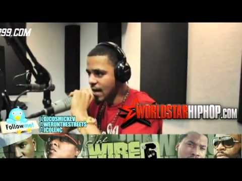 J. Cole Freestyle On Power 99