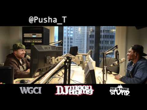 Pusha-T Talks About Drake And The B.E.T. Cypher