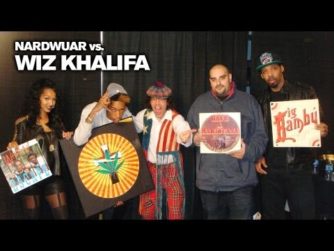 Wiz Khalifa & Nardwuar Talk Weed Paraphernalia
