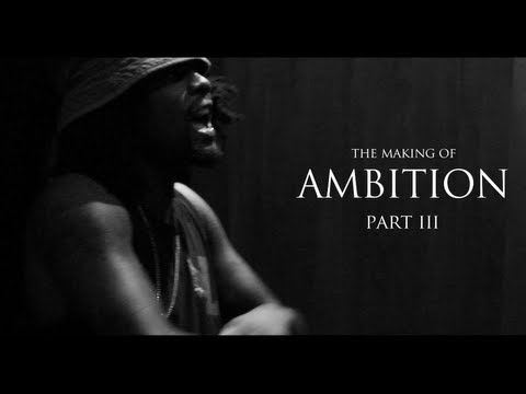 Wale Views On His Up & Coming Album  (In The Studio Making Ambition)