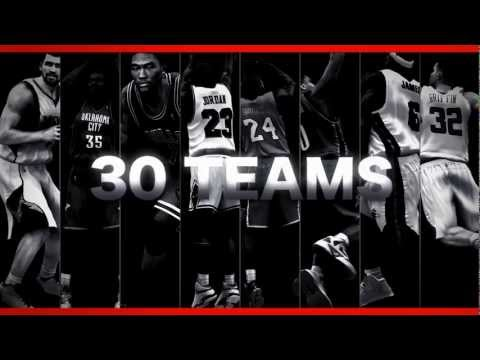NBA 2K13 Video Game [OFFICIAL TRAILER]