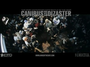 Canibus Pulls Out Notepad During Pay Per View Rap Battle