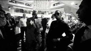 Diddy Shows For Cannes Film Festival With Friends