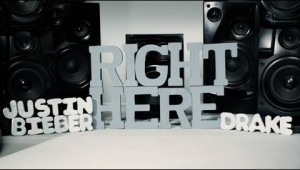 Justin Bieber Feat. Drake &#8211; Right Here [Lyric Video]