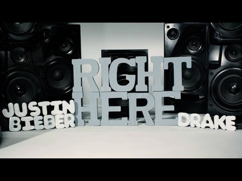 Justin Bieber Feat. Drake – Right Here [Lyric Video]