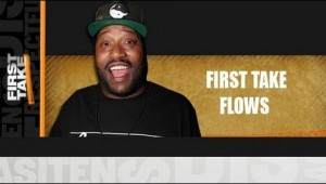 Bun B Rocks The Mic For ESPN First Take