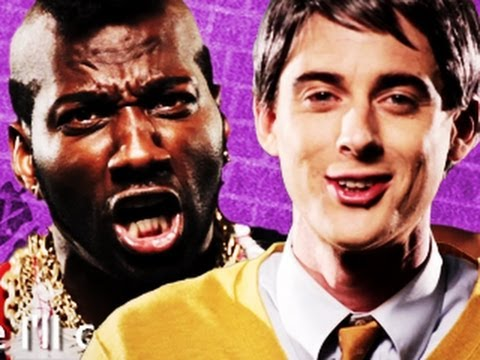 Mr T Vs Mr Rogers (Rap Battle)