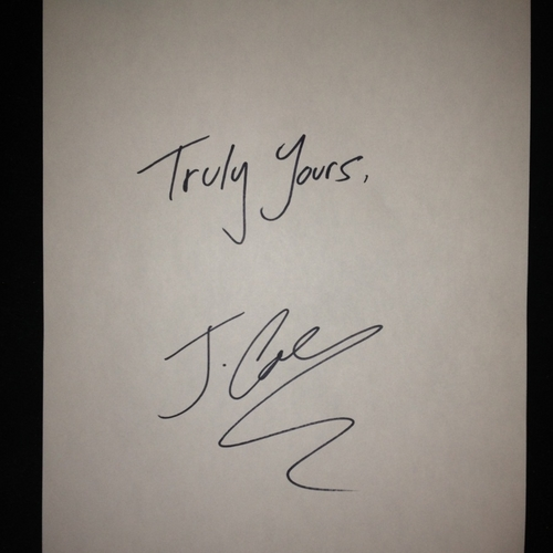 J.Cole – Truly Yours [VMG Approved]
