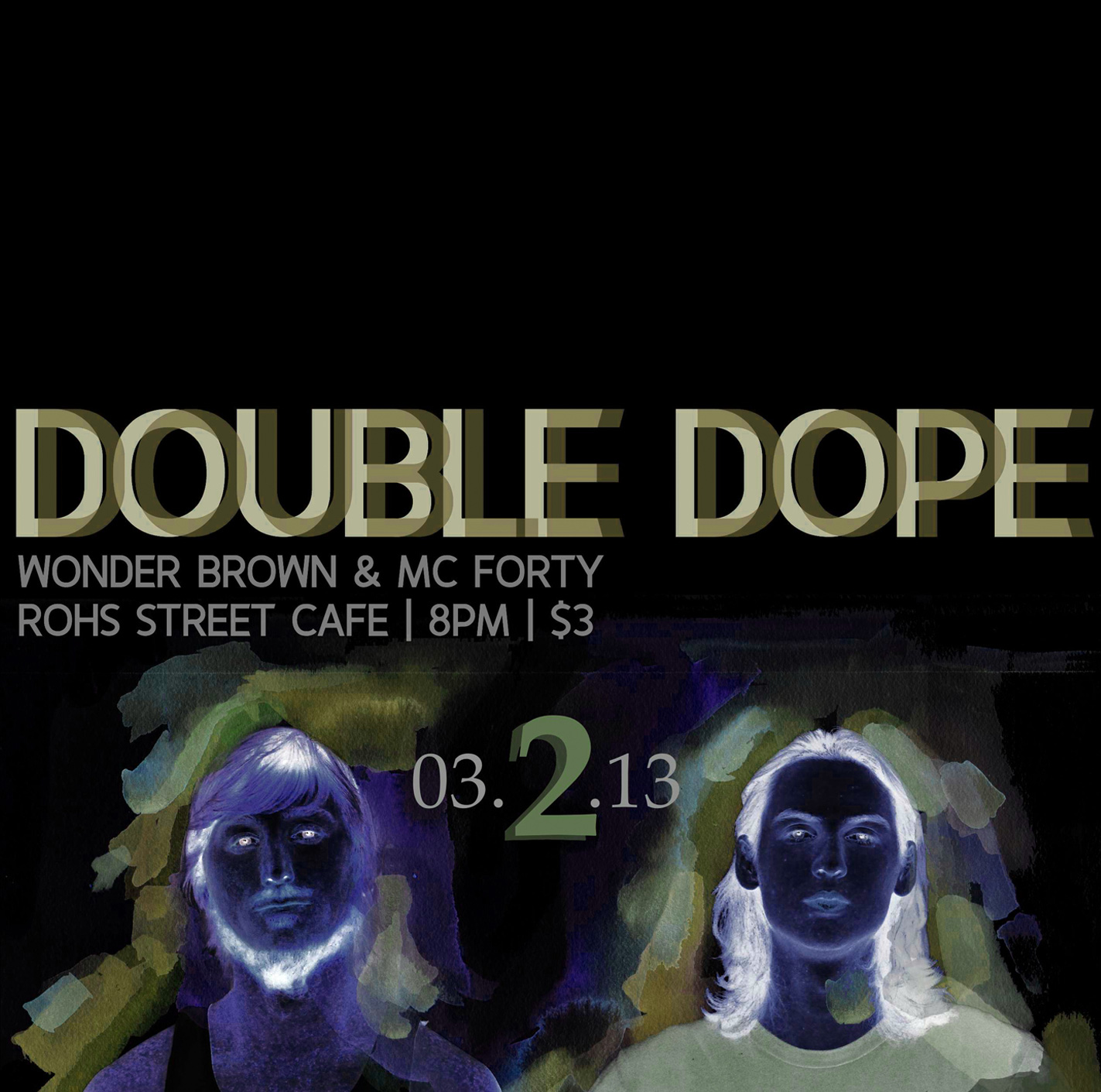 Double Dope Single Art