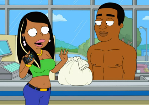 """Kid Cudi Makes Appearance On """"The Cleveland Show"""""""