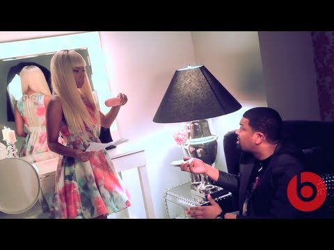 Nicki Minaj Launches Pink Beats By Dre Pill Speaker