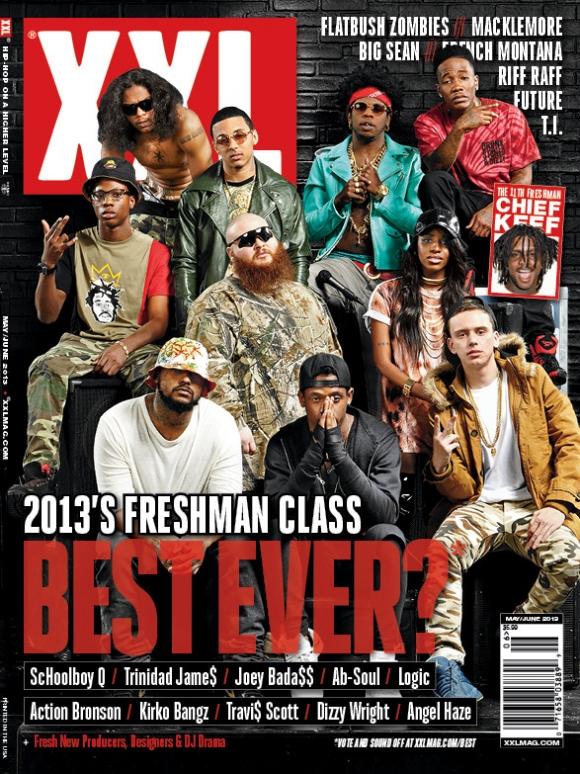 2013 XXL Freshmen Class Revealed