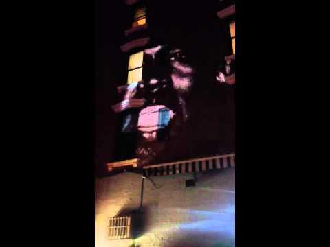 "Kanye West Debuts ""New Slaves"" On 66 Buildings Worldwide"