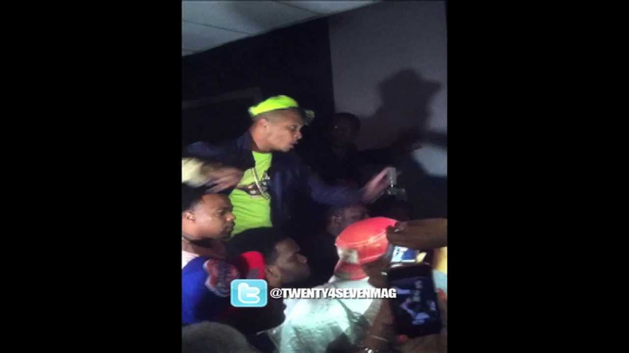 T.I. Gets Buck With An Audience Member