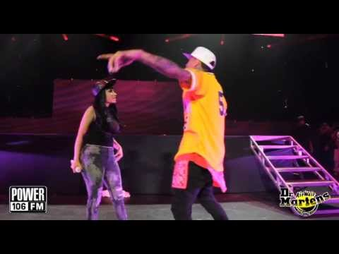 Chris Brown Cops A Feel On Nicki Minaj