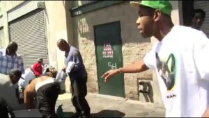 Tyler The Creator Gives Free Clothes To The Homeless