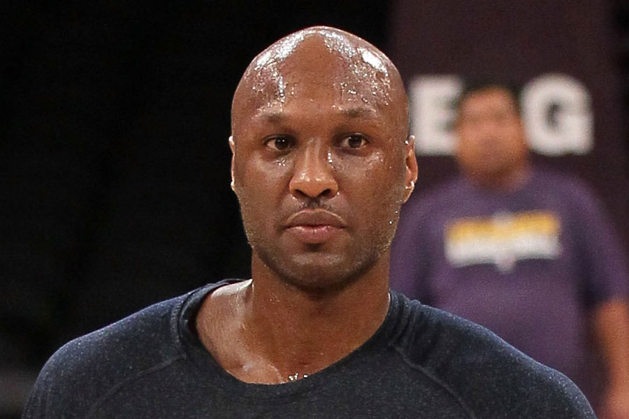 Lamar Odom Almost Gets Into It With Photogs Again
