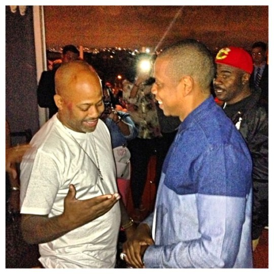 Jay Z and Dame Dash At The Same Place At The Same Time