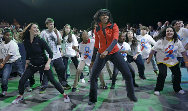First Lady Michelle Obama Uses Hip-Hop To Push Her Initiative Against Childhood Obesity