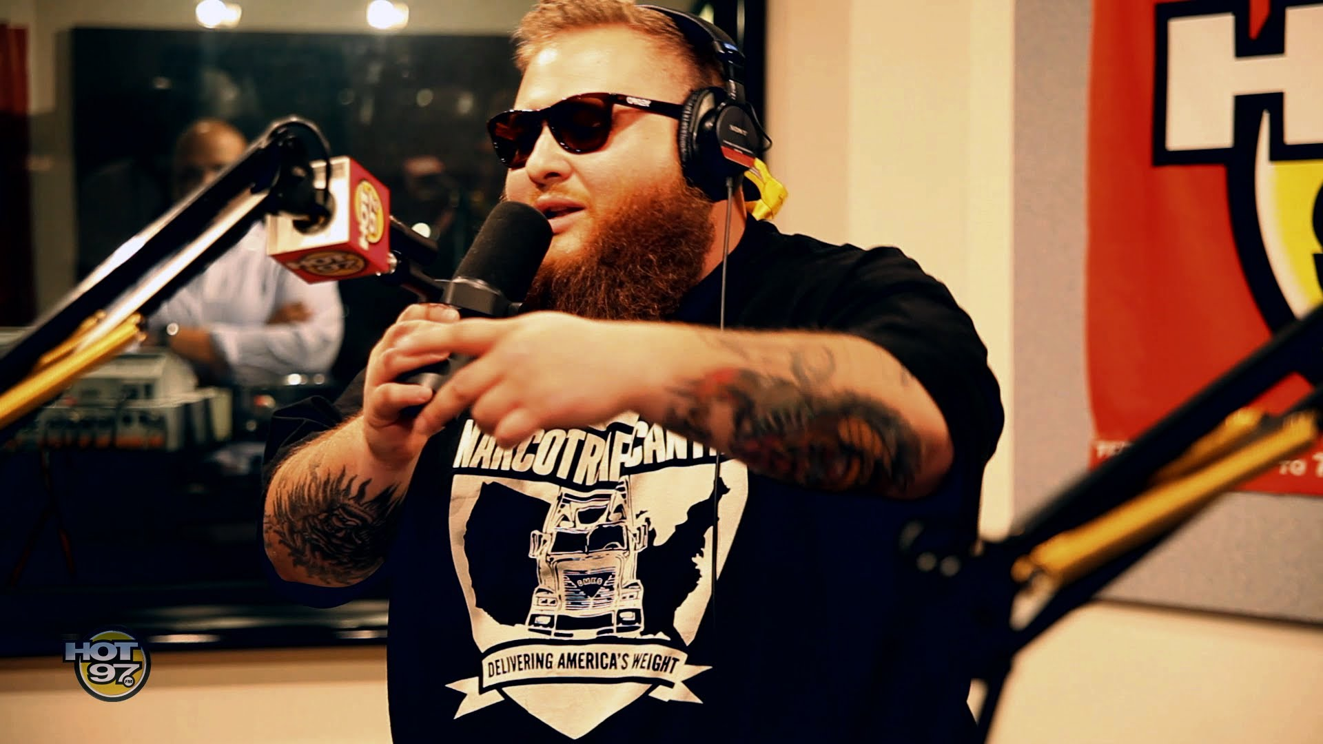 Action Bronson Freestyle on Funk Flex