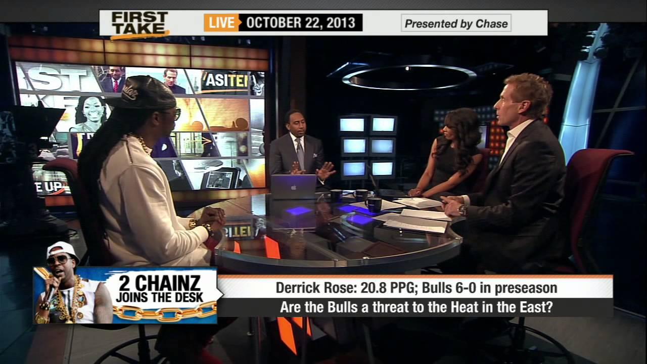2 Chainz On ESPN First Take