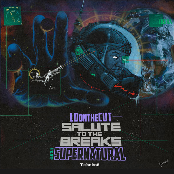 LDontheCut Feat. Supernatural – Salute To The Breaks [VMG Approved]