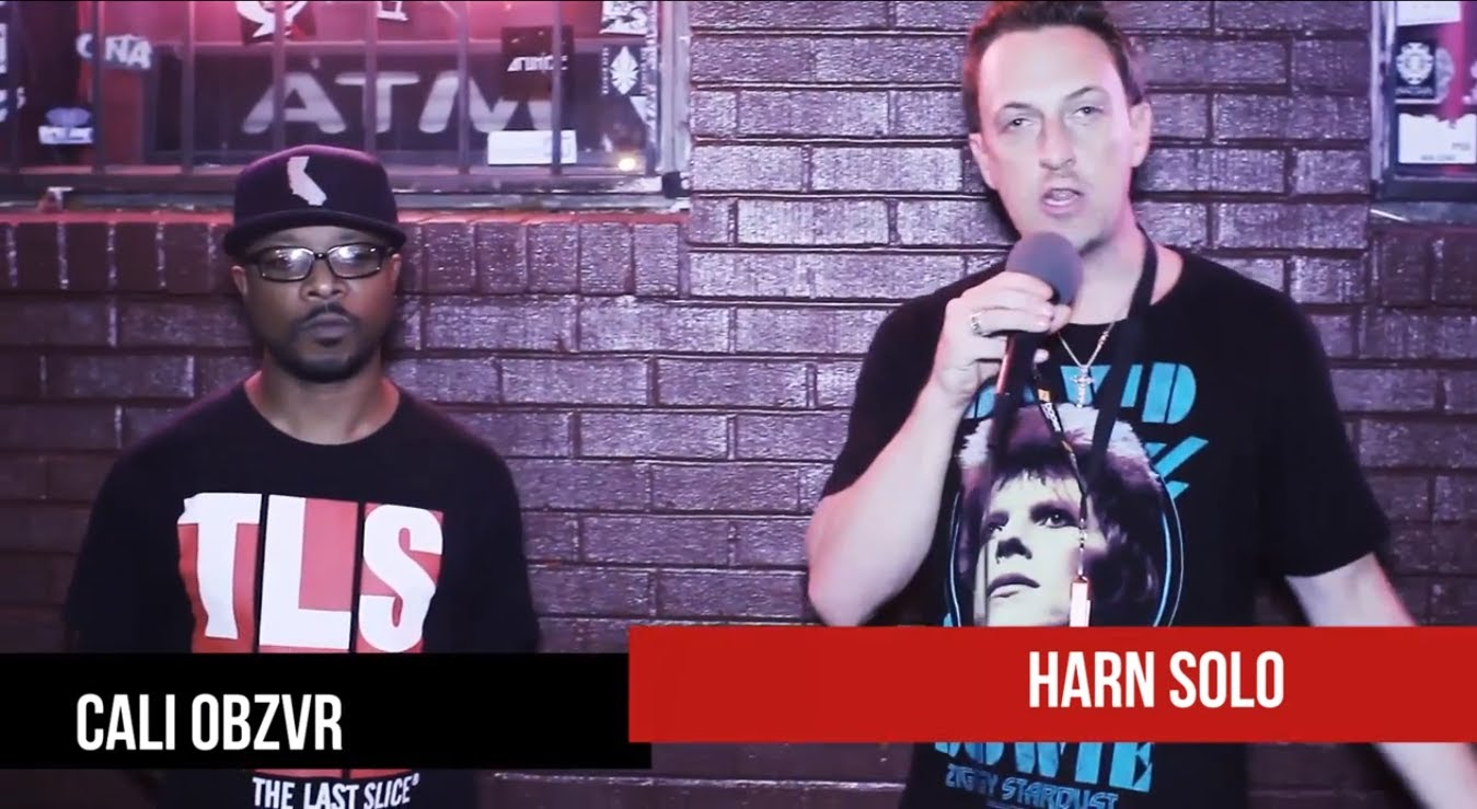 "Mighty Muzik Presents ""Harn SOLO"" Live w/ Caliobzvr x Lyriqs"