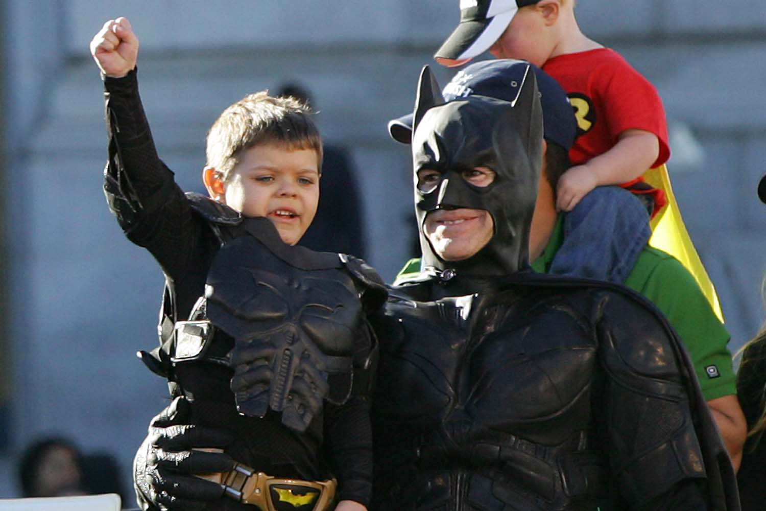 Batkid Saves Pitbull From The Joker
