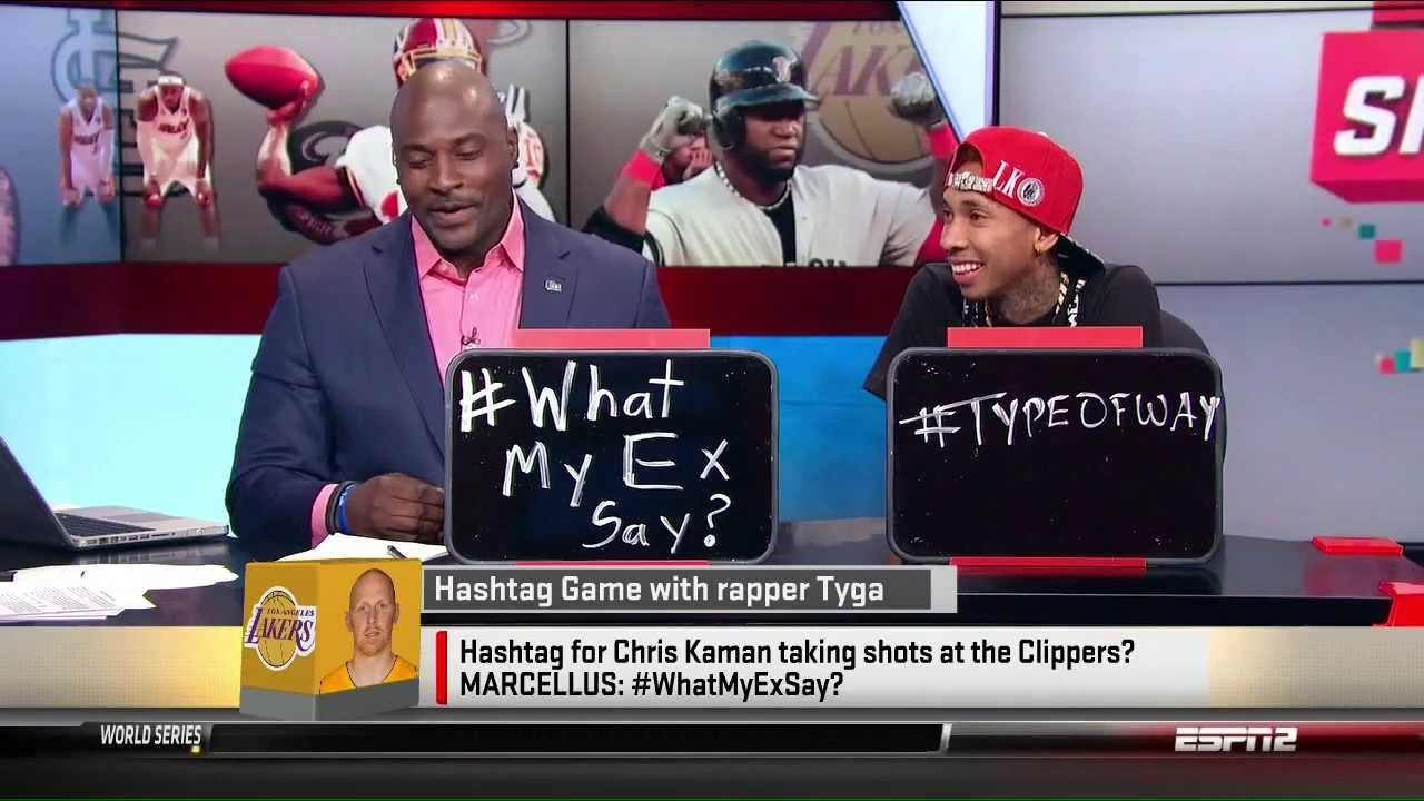 Tyga On ESPN Sportsnation