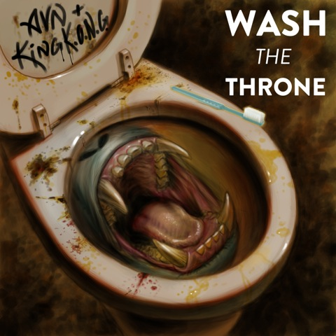 wash the throne