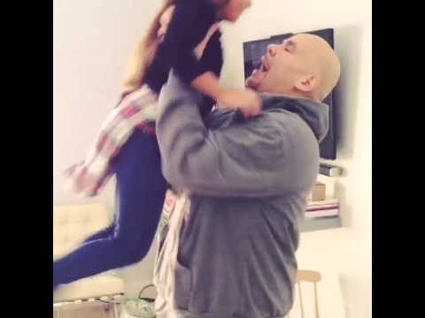 Fat Joe Surprises His Daughter On Thanksgiving