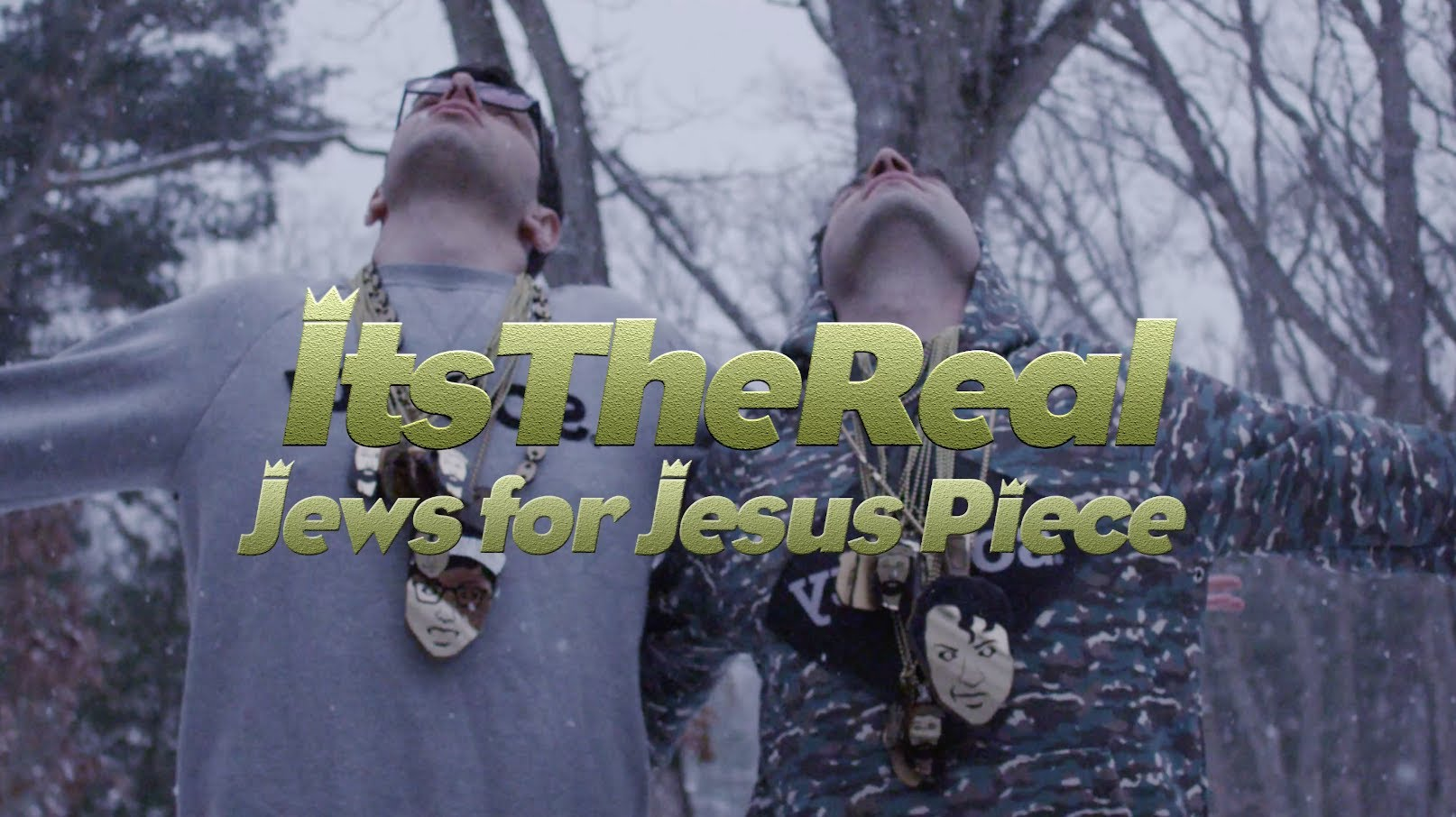 """ItsTheReal """"Jews For Jesus Piece"""""""