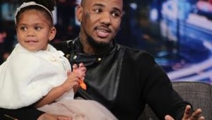 The Game Brings His Daughter To The Arsenio Hall Show