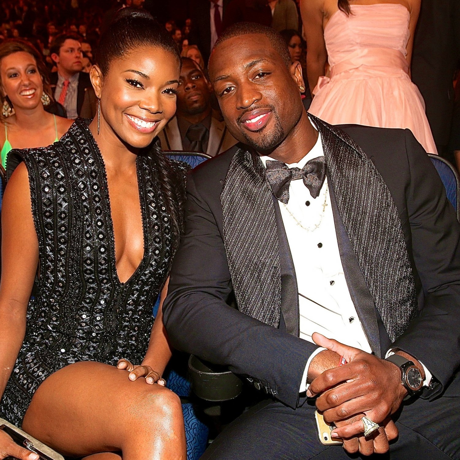He Proposed!!! Dwyane Wade And Gabrielle Union Are Engaged.
