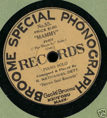 Black History Month: Broome Special Phonograph Records, The First African-American Owned And Operated Record Label