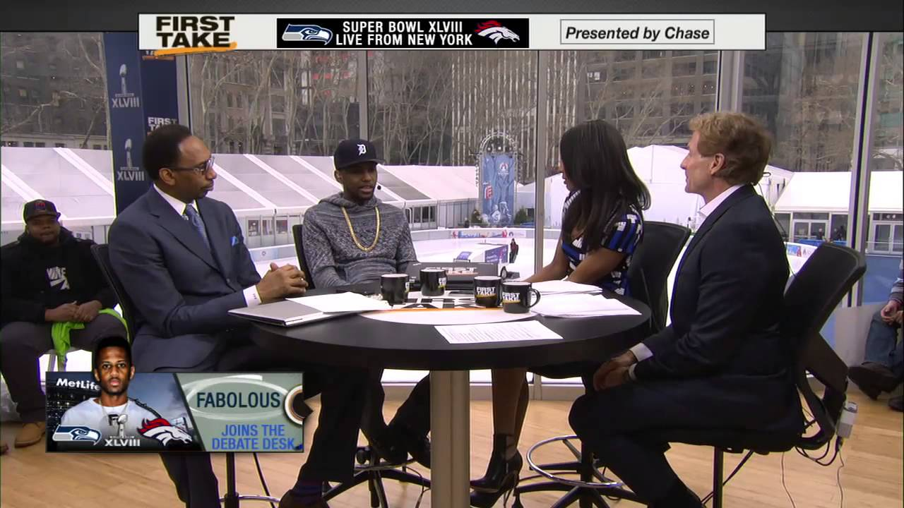 Fabolous Appears On ESPN First Take