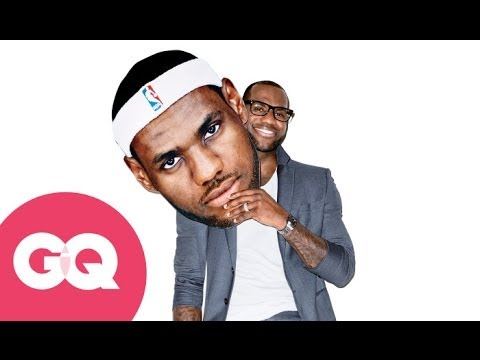 LeBron James Is On Fire On The Cover Of 'GQ'