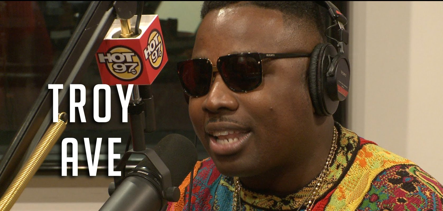 Troy Ave Freestyles On The Funkmaster Flex Show
