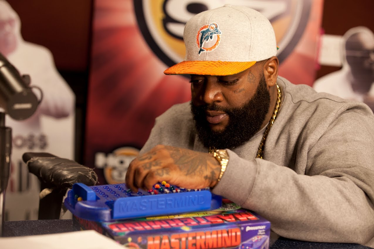 Angie Martinez Challenges Rozay To A Game Of Mastermind