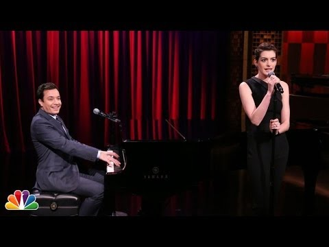Anne Hathaway & Jimmy Fallon Turn Raps Into Show Tunes
