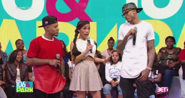 August Alsina Shuts Down 106 & Park Host Keshia Chante Live On Air