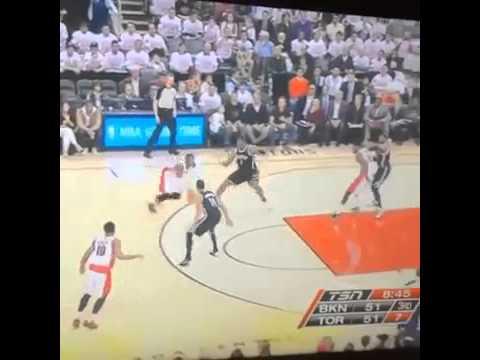 Drake Sending Shots At Jay-Z At Raptors/Nets Game