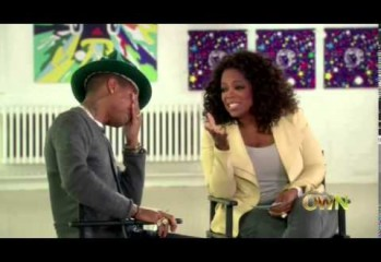 Pharrell Is So 'Happy' He Cries On Oprah