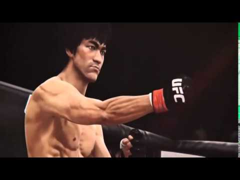 "EA Sports ""UFC 2014″ Bruce Lee (Gameplay Trailer 5)"