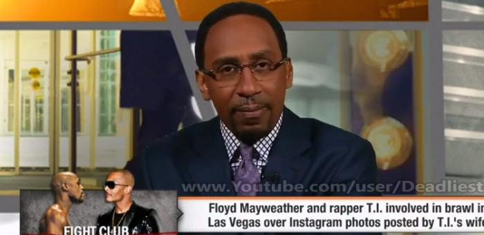 Stephen A. Smith Goes In On Tiny For Putting Her Husband T.I. On Blast