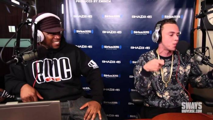 Logic – 5 Fingers Of Death [Freestyle] On Sway In The Morning [VMG Approved]