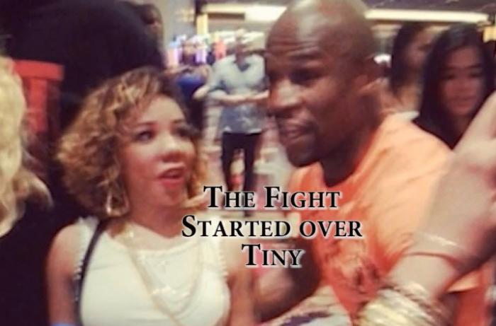 T.I. Fights Floyd Mayweather In Vegas Over Tiny & Brawl Breaks Out [Updated]