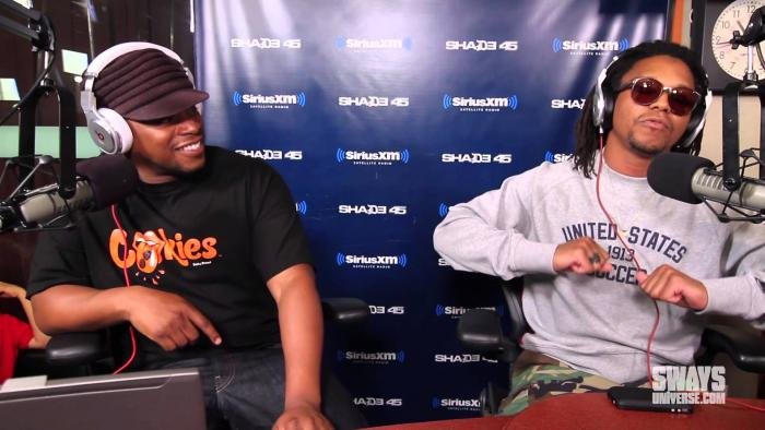 Lupe Fiasco Blasts a Dope Freestyle on Sway in the Morning