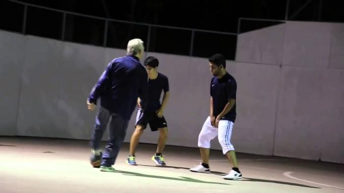 """Sean Garnier"" Poses As An Old Man And Humiliates Some Young Guys"